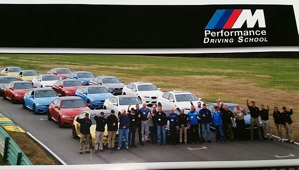 Jason Workman at BMW Performance School