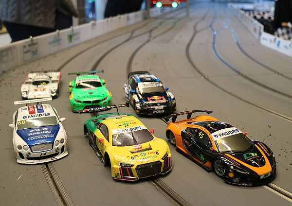 Biela/Molina on the podium again in 24h of Hamburg slotcars