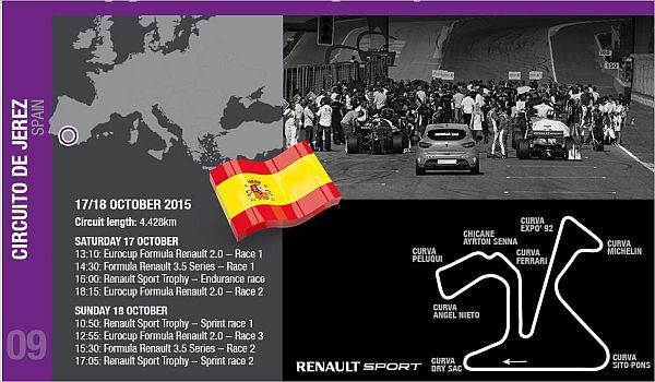 World Series by Renault explosive finales at Jerez