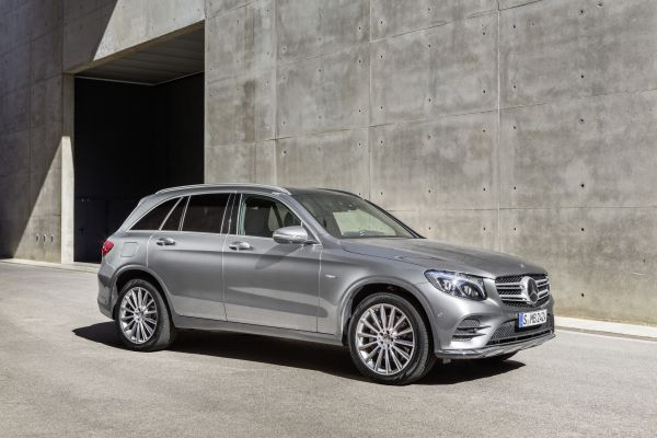 Second top award for Mercedes-Benz GLC in Euro NCAP Rating