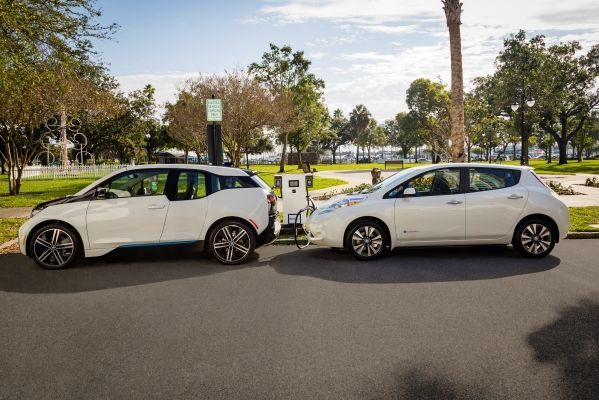 Nissan and BMW partner to deploy dual fast chargers...