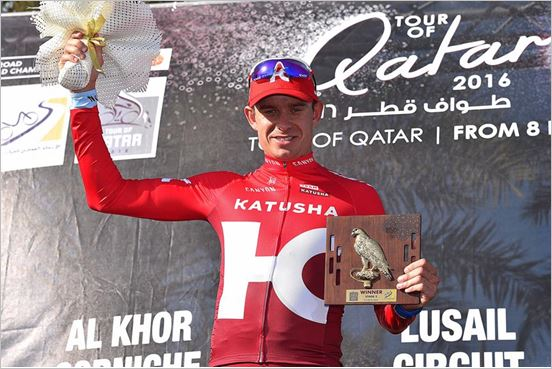 Tour of Qatar 2016: Alexander Kristoff brings to KATUSHA first win of the season