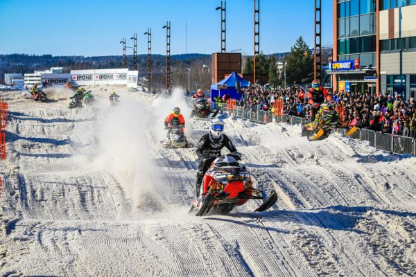 Renheim's brothers dominated FIM Snowcross in Jyväskylä