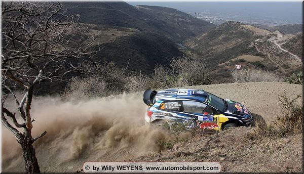 News from Mexico Rally Friday stage 5