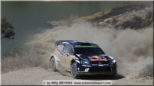 Ogier win Mexico Rally stage 20, Latvala leads