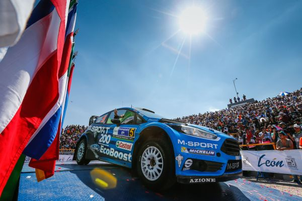 M-Sport and Ford make WRC history