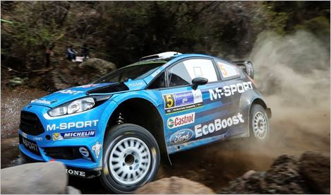 M-Sport driver quotes in Mexico Rally Friday Midday