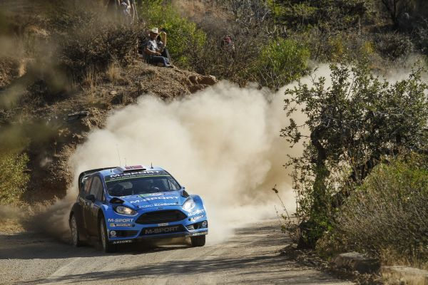 Mads Ostberg jumps to second thanks to fourth in Mexico