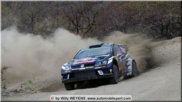 First news from Mexico Rally Friday stage 4