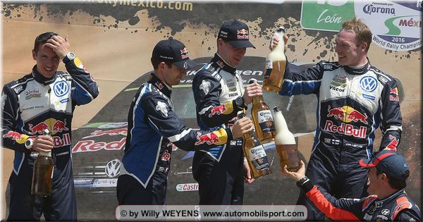 Volkswagen hits the heights in Mexico with Latvala and Ogier