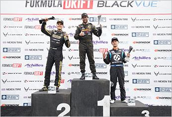Chelsea Denofa Takes His First Ever Formula DRIFT Victory