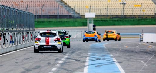 Renault Clio Cup Central Europe Testtag in Hockenheim