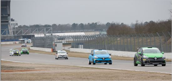Renault Clio Cup Central Europe Hockenheim Test Resultat