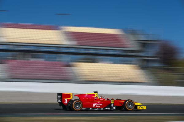 A new season begins for Racing Engineering in Barcelona.
