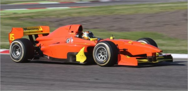Adria: Indian Raghunathan first in the AutoGP free practice