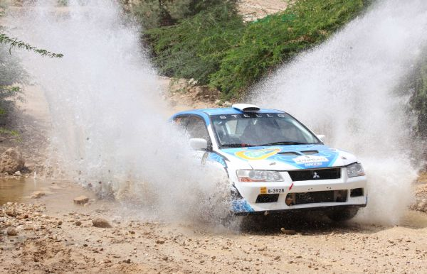 Jordan Rally standings after day 1 and timetable