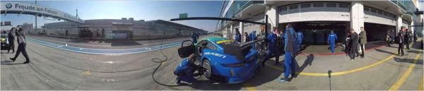Ride with Falken's 360 degree Virtual Reality on Board on the Nordschleife