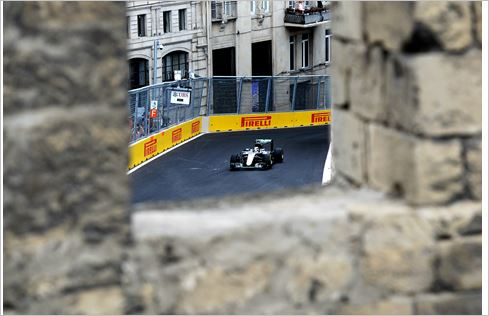 Pirelli F1 Europe GP Baku practice sessions review