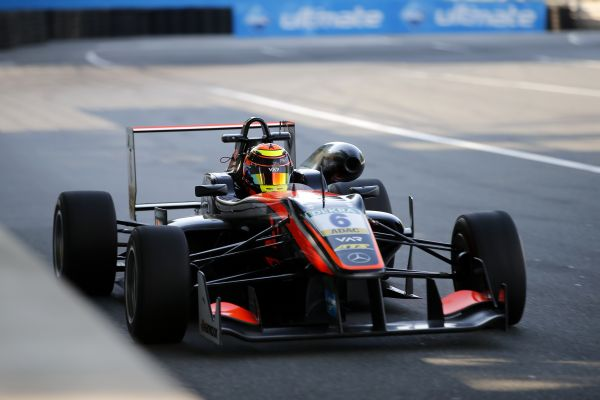 Callum Ilott fastest, but FIA F3 pole positon for Anthoine Hubert and Lance Stroll