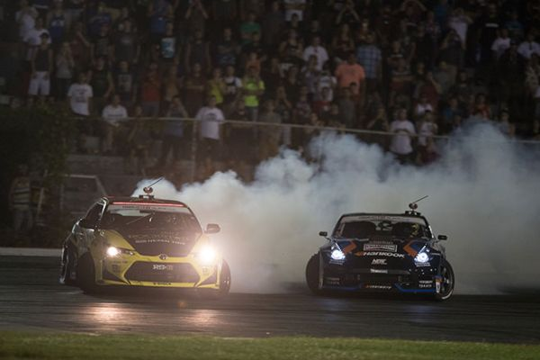 Formula Drift True North event results and standings