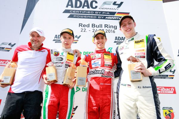Start-finish victory at Red Bull Ring for local driver Thomas Preining