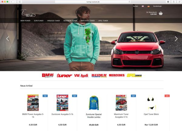 Tuning-Couture Shop jetzt online!
