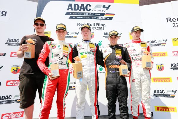 ADAC Formula 4: Laaksonen wins to wrap up weekend at Spielberg