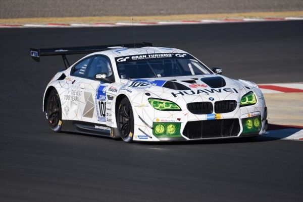 The BMW M6 GT3 at the 2016 SA Festival of Motoring.