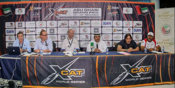UIM XCAT Abu Dhabi Grand Prix  Wednesday's practice times