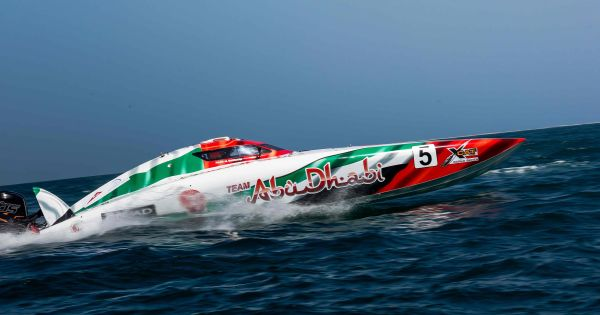 Team Abu Dhabi 5 fastest in practice for home Abu Dhabi XCat Grand-Prix