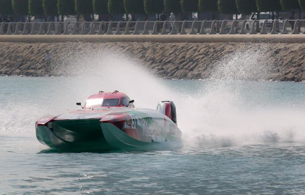 UIM Class 1 World Powerboat Championship Friday results and standings
