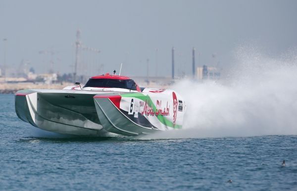 UIM Class 1 World Championship : Team Abu Dhabi 6 shadows Victory 3 in opening practices
