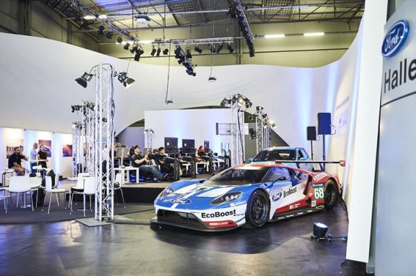 Gamers Drive Ford GT in Forza Motorsport 6 for 48 Hours at Le Mans