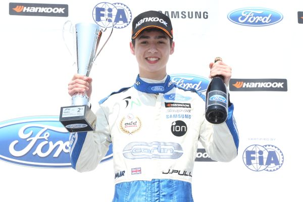 James Pull to make step up to BRDC British F3 in season finale