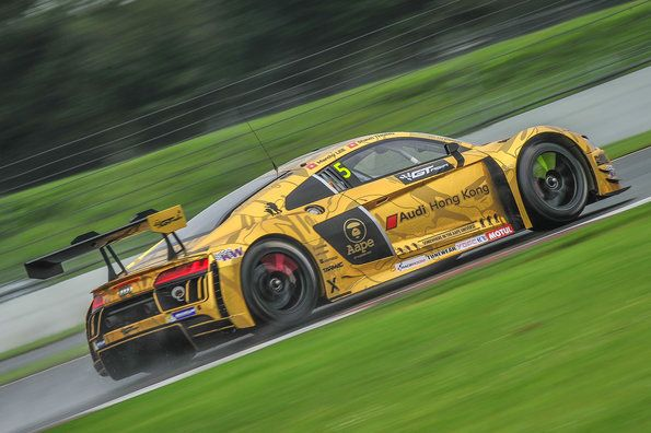 Audi win and vice-championship title in GT Asia Series