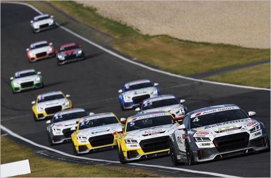 Audi Sport TT Cup celebrates premiere at the Hungaroring