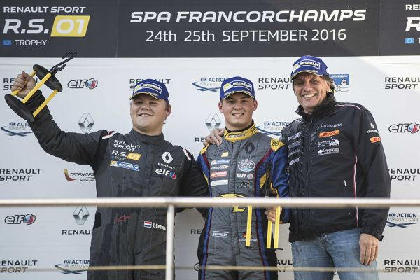 Fabian Schiller Crowned Renault Sport Series Champion in Spa