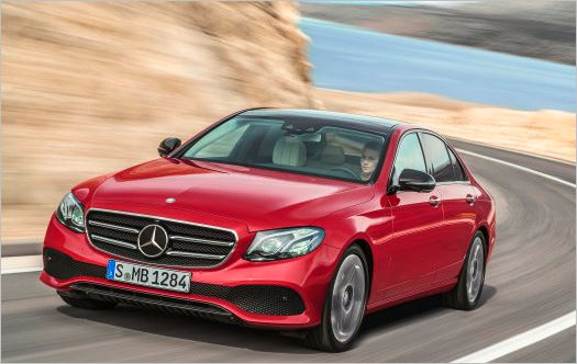 Five stars in the Euro NCAP rating: E-Class top-rated for safety