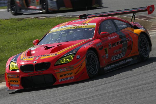 Japanese Super GT: Podium position for the BMW M6 GT3 in Thailand.