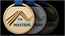 FIA Hill Climb Masters-Gold medals for Faggioli, Moran and Peruggini