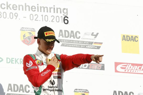 Win for Mick Schumacher in ADAC Formula 4 season finale