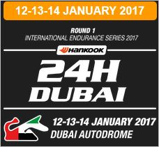 Only 5 entries left for the Hankook 24H DUBAI 2017