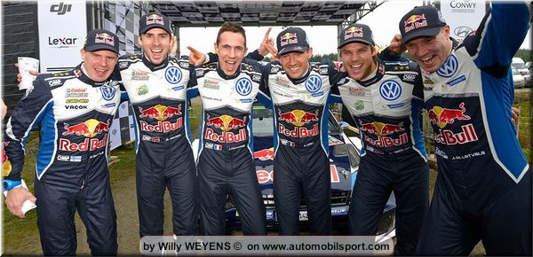 Volkswagen successes in the World Rally Championship: did you know ...