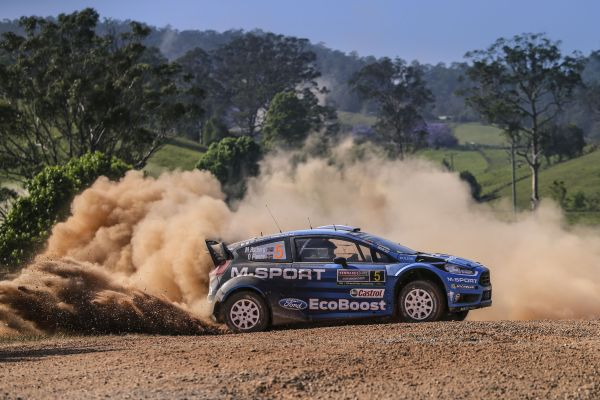 M-Sport World Rally Team with good start down under
