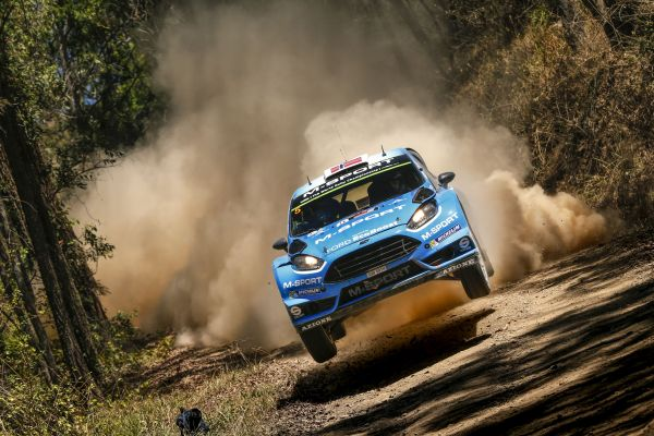 M-Sport World Rally Team's Mads Ostberg hunts Australian best