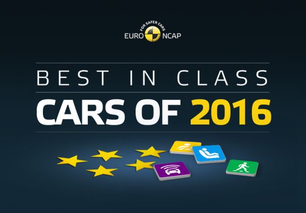 Euro NCAP Best in Class Cars of 2016