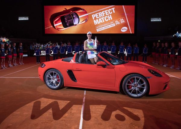 Porsche Tennis Grand Prix 2016's favourite tournament