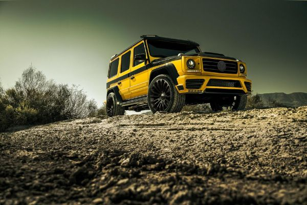 New MANSORY Wide body Kit for the Mercedes-Benz G-class.
