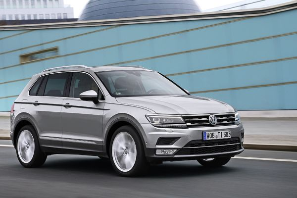 "Euro NCAP 2016: the VW Tiguan is ""Best in Class"""