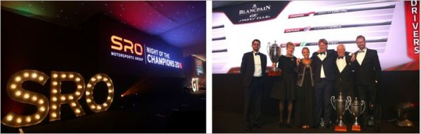 Blancpain GT Sports Club title winners crowned at SRO Night of the Champions